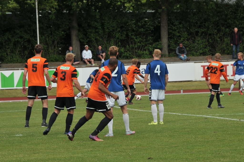 Holbæk B&I tabte lørdag til FC Svendborg på hjemmebane. Foto: Alex Christensen.
