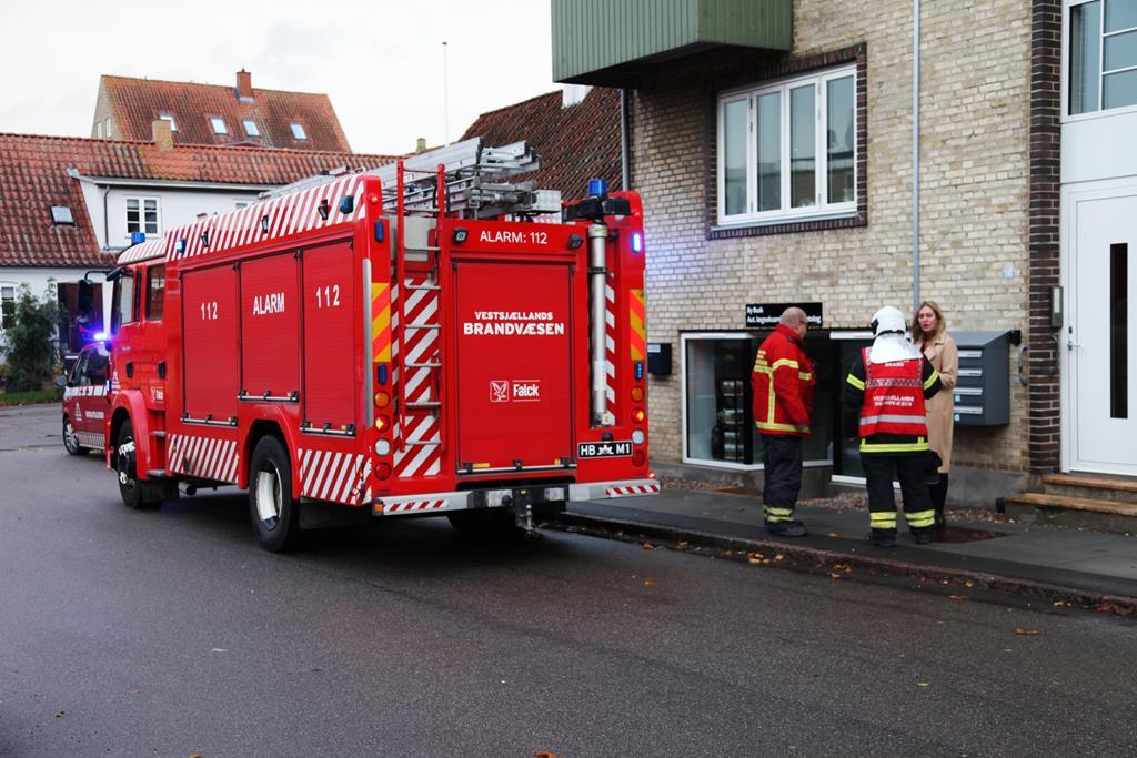 Brandvæsnet rykkede ud til skønhedsklinik