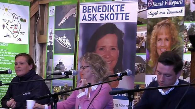 Benedikte Ask Skotte ses til Venstre i billedet ( Printscreen fra TV-Vestsjælland)