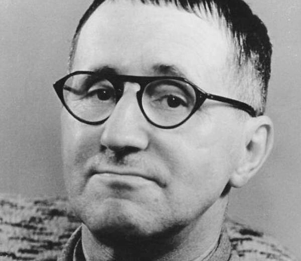 Bertold Brecht Foto: Bundesarchiv, Bild 183-W0409-300 / Kolbe, Jörg / CC-BY-SA 3.0