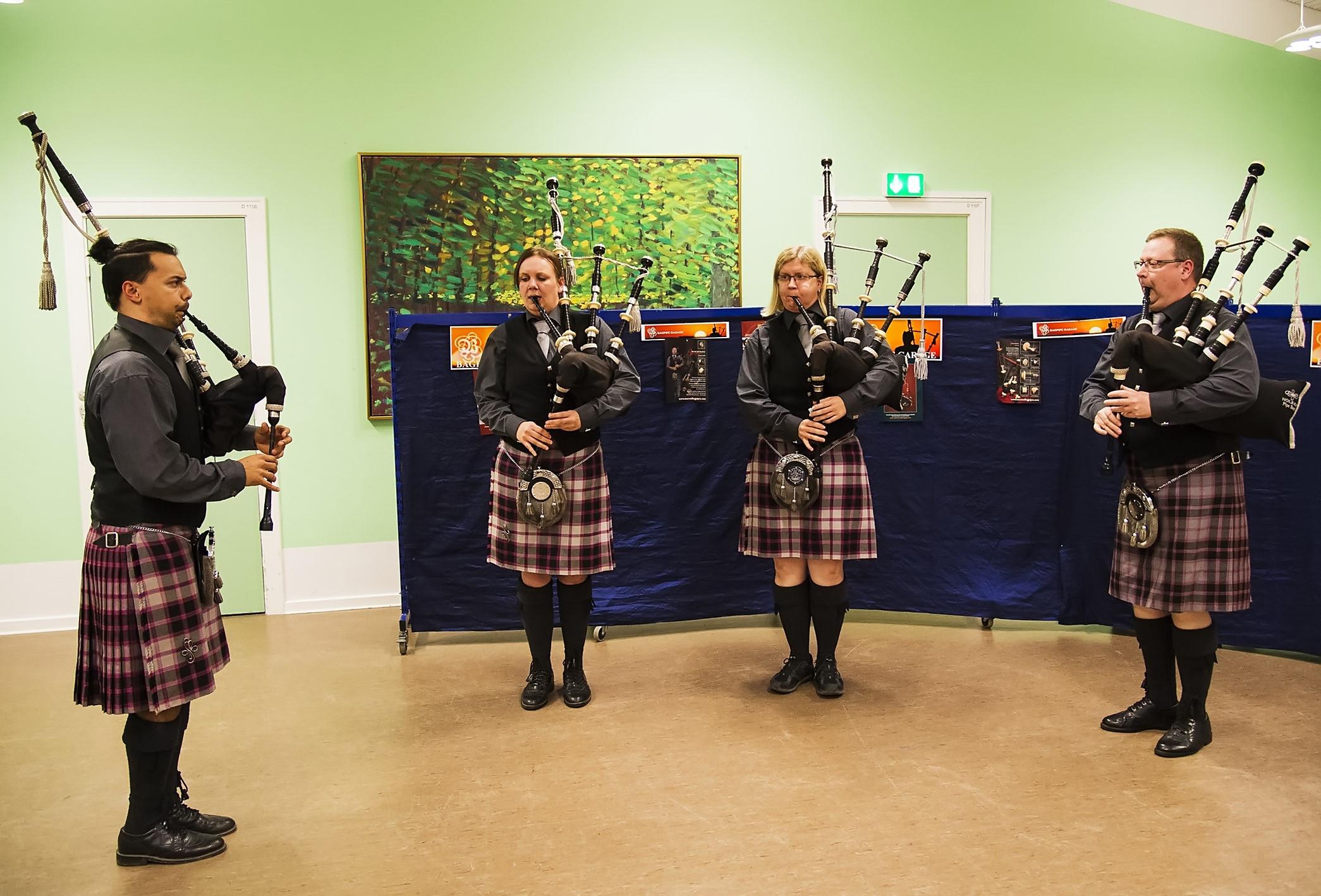 Kvartetten, der tog et af de tre kvartet-mestreskabe, der blev i Holbæk (fv): Rune Sawath Jensen, Camilla Rask Poulsen, Lisbet Kværnø og David Lundgreen. (Prfoto)