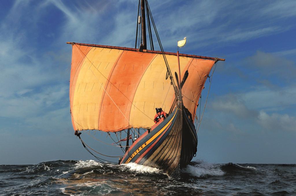 PRfoto:  Werner Karrasch/Vikingeskibsmuseet i Roskilde.