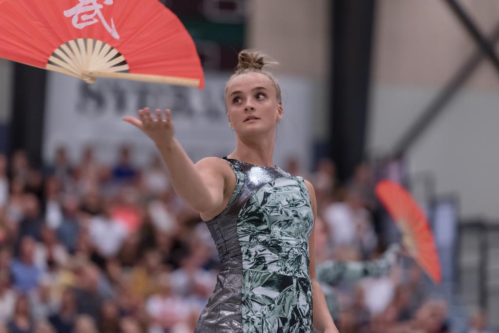 Pernille Schou Jørgensen fra Jyderup er med på DGI Verdenshold. Foto: DGI.