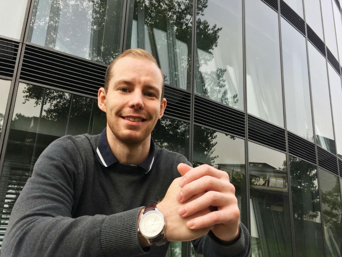 Lasse Birch har taget et års arbejde i München inden turen går videre til Australien. (Privatfoto)