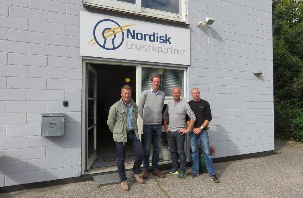 Fra venstre: Christian Lenander, Christian Knutsson, Kern Wandall, Nicolai Højland. PRfoto.