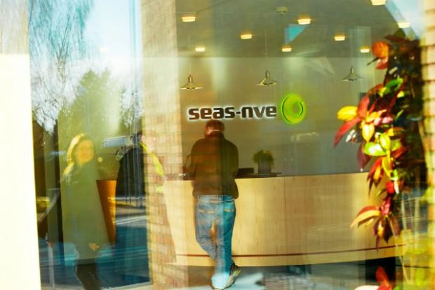 SEAS-NVEs hovedkontor i Svinninge anmeldte i går til politiet, at der var blevet sendt falske SMS'er ud i firmaets navn med opkrævninger til kunder. Foto: SEAS-NVE / Mikkel Bache