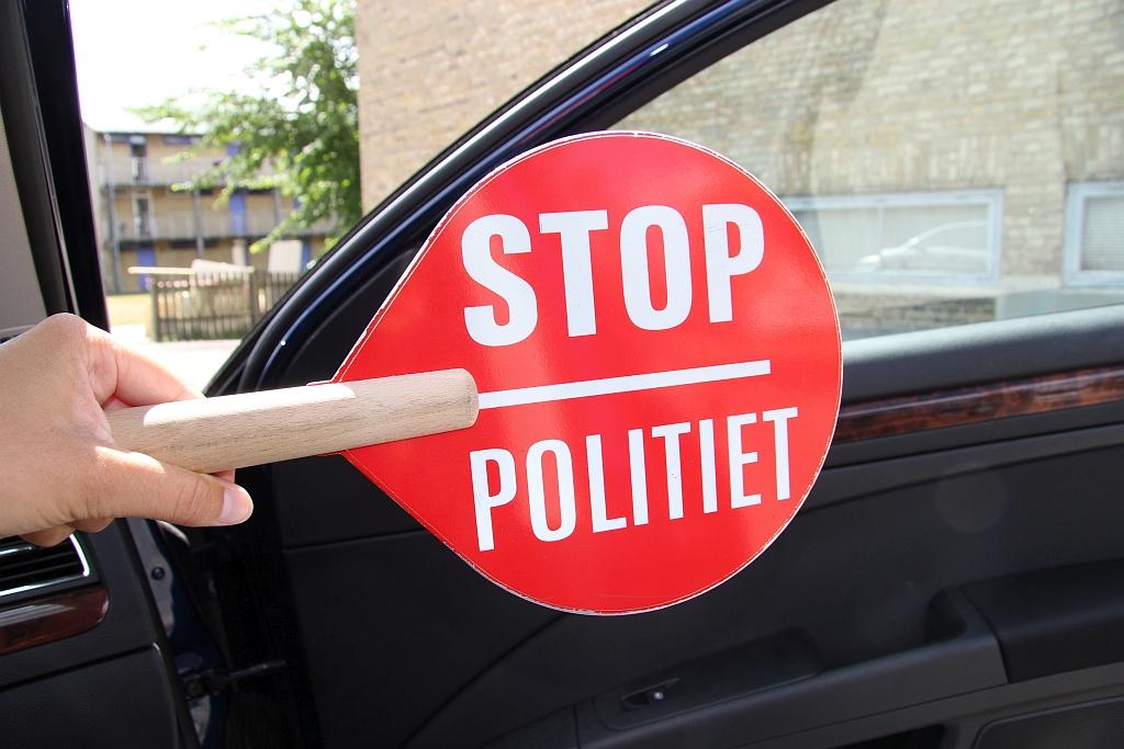 Færdselspolitiet kontrollerede trafikanter