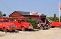 Der bliver brug for udrykningskøretøjerne fra Zonen i denne weekend. Prfoto: Andelslandsbyen Nyvang.
