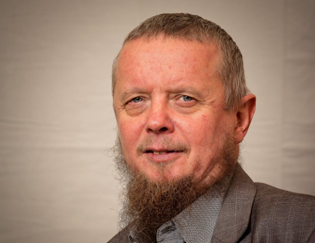 imam Abdul Wahid Pedersen besøger Holbæk Bibliotek. PRfoto.
