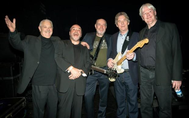 The Baronets spiller fredag d. 12. februar i Huset på Næsset. PRfoto.