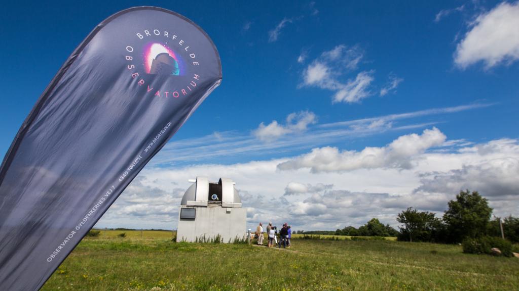 Prfoto: Brorfelde Observatorium.