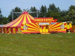 Cirkus Kæphøj er klar til endnu en sæson. Foto: Holbaekonline.dk