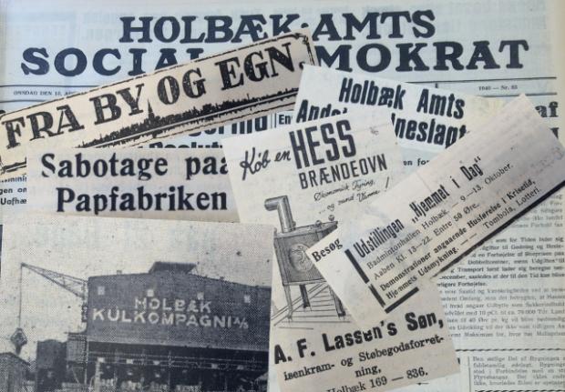 """Der er masser af sjove, spændende og anderledes historier i de gamle aviser og tidsskrifter og på arkiverne rundt omkring. Dem finder vi frem i serien """"Det var dengang..."""""""