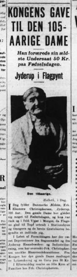 Fra Ekstra Bladet d. 19. juni 1933.