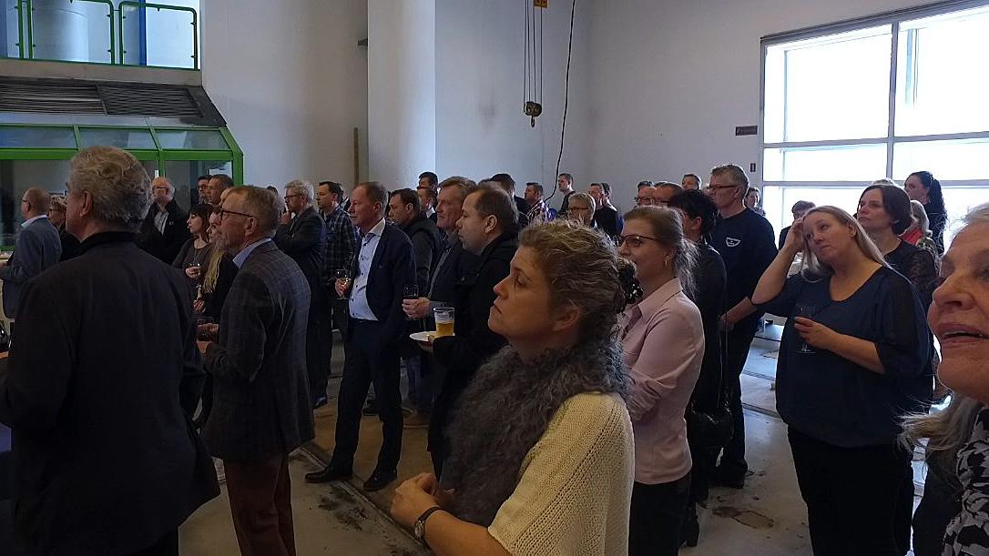 Fredag var der officielt åbning af erhvervenes hus. Foto: Jesper von Staffeldt.