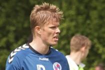 Frederik Tingager var med, at OBs reserver tabte til FC Midtjyllands reservehold. Arkivfoto: Rolf Larsen.