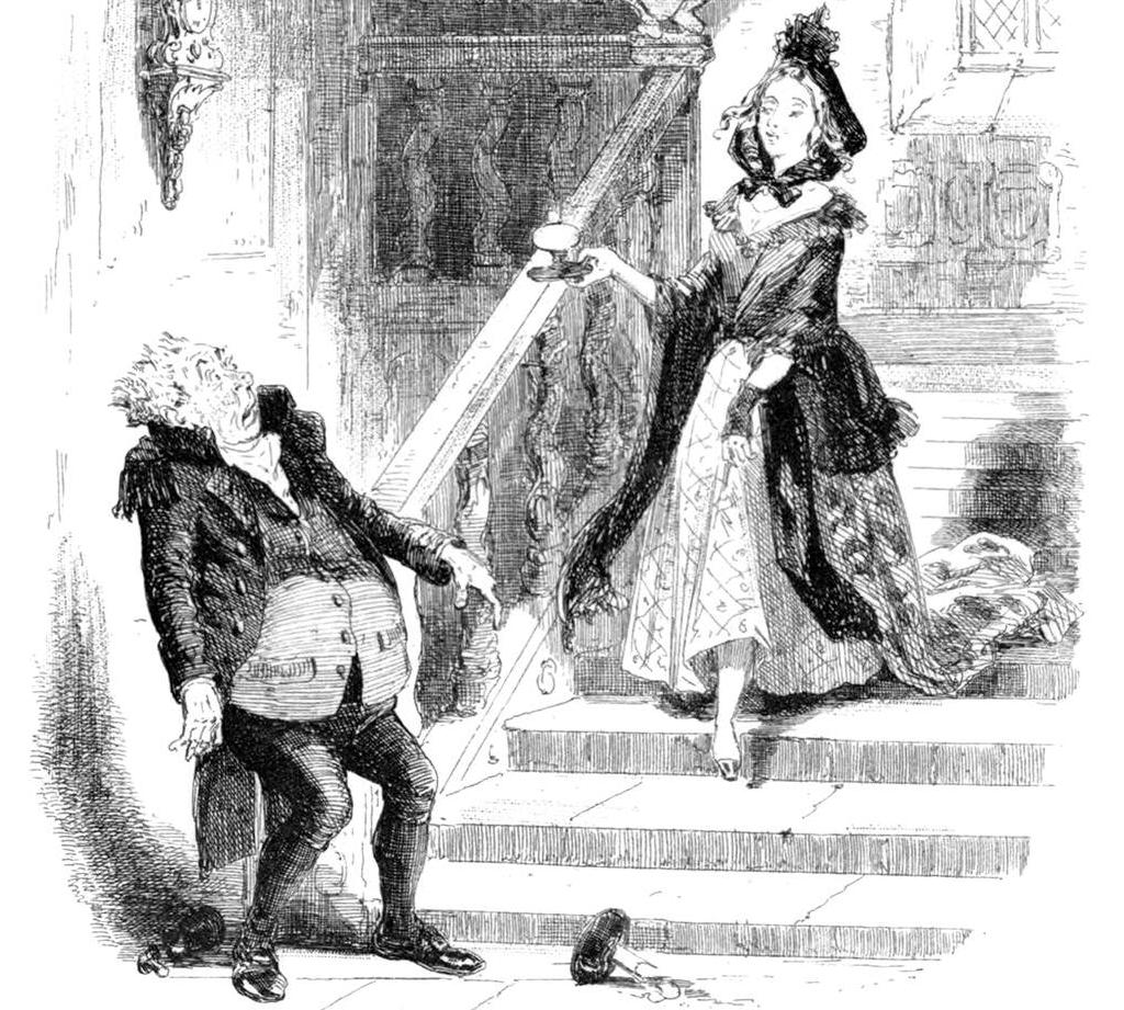 Illustration: Hablot Knight Browne (Phiz).