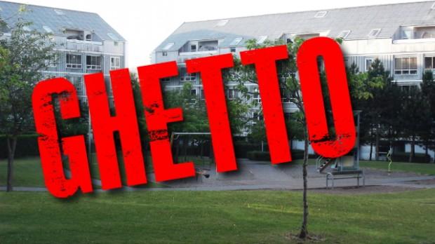 Ministeriet har officielt optaget Ladegårdsparken på den såkaldte ghettoliste. Grafik: Rolf Larsen.