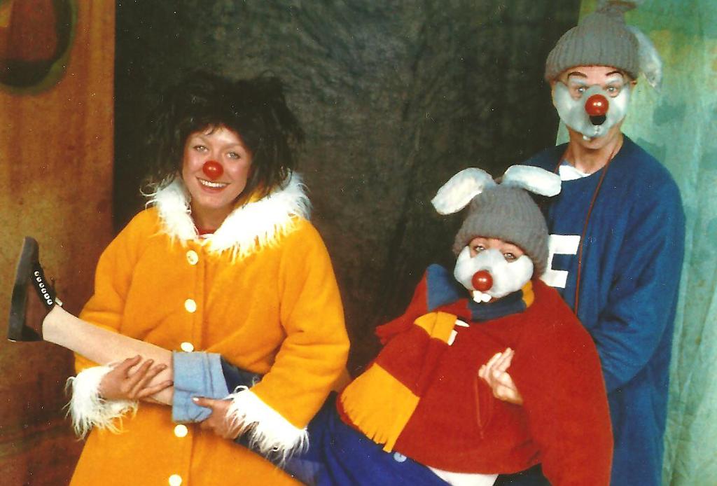 Teater fore hele familien om Cirkeline og hendes venners juleforeberedelser. PRfoto.