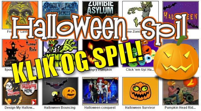 Spil Halloweenspil på www.5minutter.dk