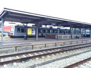 Holbæk Station.  Arkivfoto: Rolf Larsen