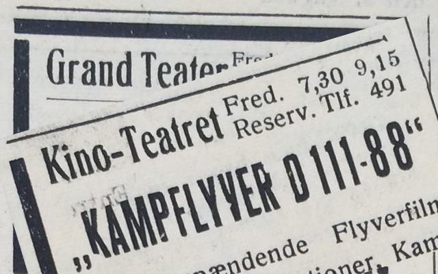 En af adspredelserne under besættelsen var en tur i biografen.