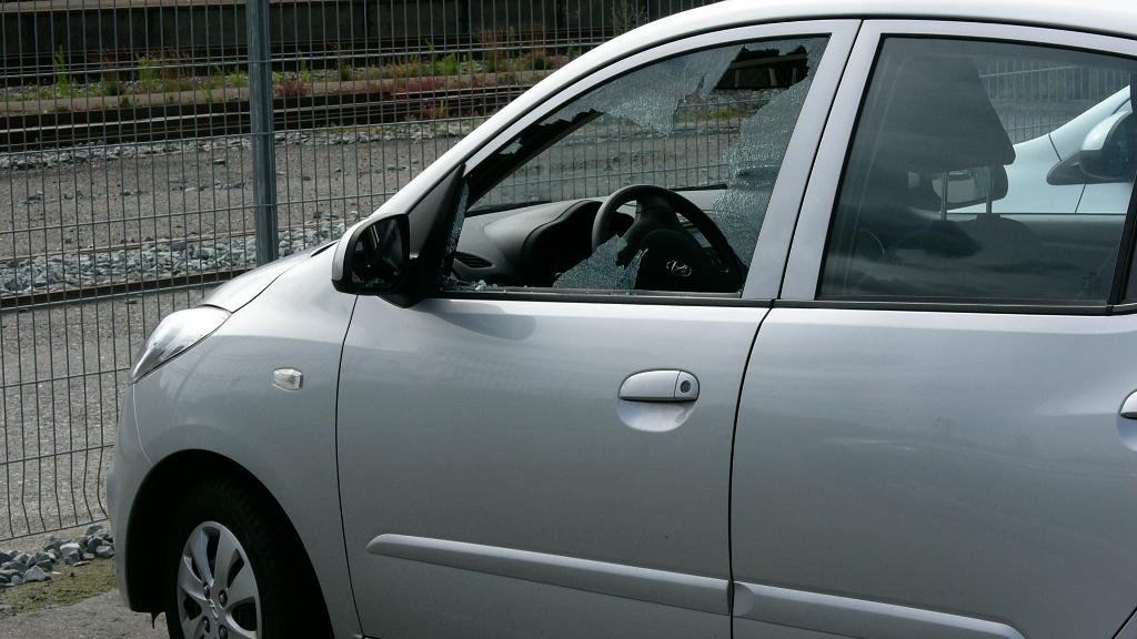 Der begås jævnligt indbrud i biler. Foto: Rolf Larsen.