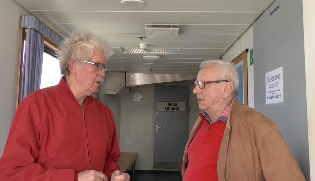 Holbaekonline.dk taler med Ole Brockdorff (A) om udsigten til et parkeringshus på Gasværksgrunden og om alternative muligheder. Foto: Jesper von Staffeldt.