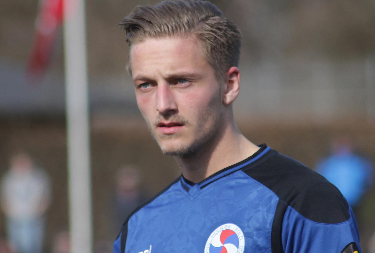 Jonas Bengtson udlignede til 1-1. Arkivfoto: Rolf Larsen.