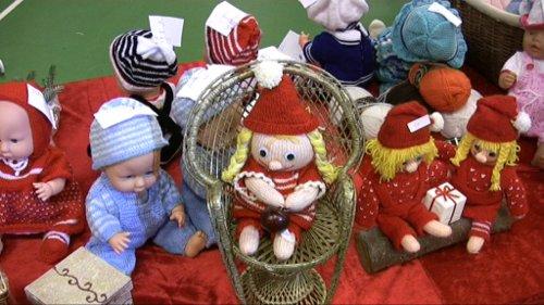 Sådan så det ud i 2010 i Orø Brugs - Send os dine julebilleder og vær med i lodtrækningen om en julepakke. Foto: Jepser von Staffeldt.
