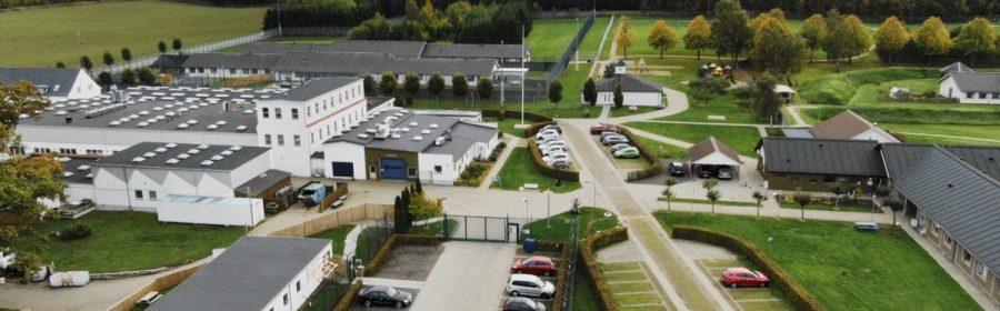 Jyderup Fængsel. Foto: Kriminalforsorgen.