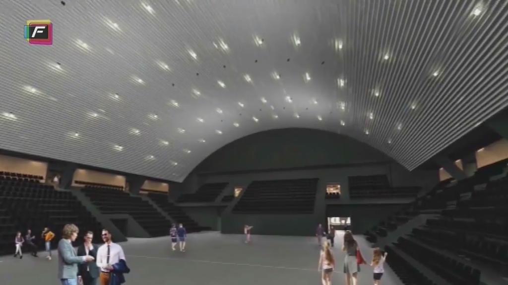 Sådan kommer den nye KB Hal til at se ud (Screendump/Frederiksberg Lokal-tv)