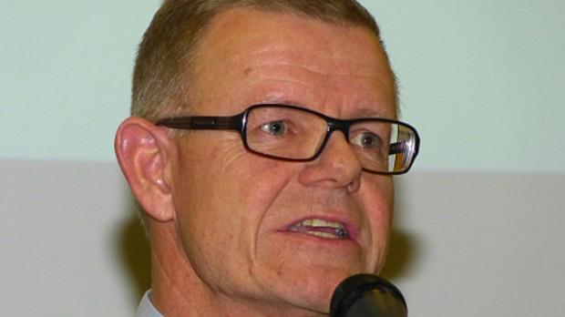 Liberal Alliances Kenny Jensby kalder venstre og borgmester Søren Kjærsgaard for 'socialistiske'.  Arkivfoto: Jesper von Staffeldt.