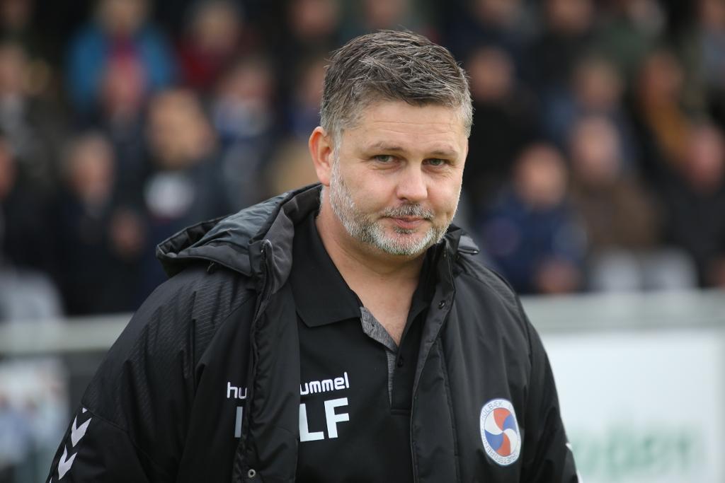 Cheftræner Lars Feist. Arkivfoto: Rolf Larsen.