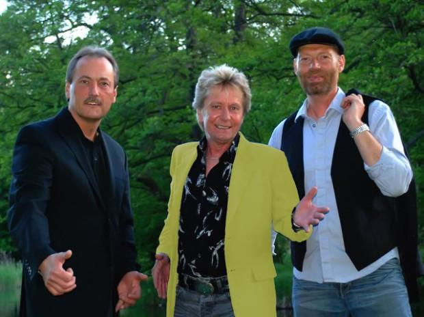 Torben Lendager (i midten) er især kendt fra 70'er fænomentet Walkers. Den 19. marts spiller han på Hotel Strandparken i Holbæk. PRfoto.