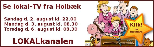 Lokal-tv fra Holbæk og omegn på LokalKanalen