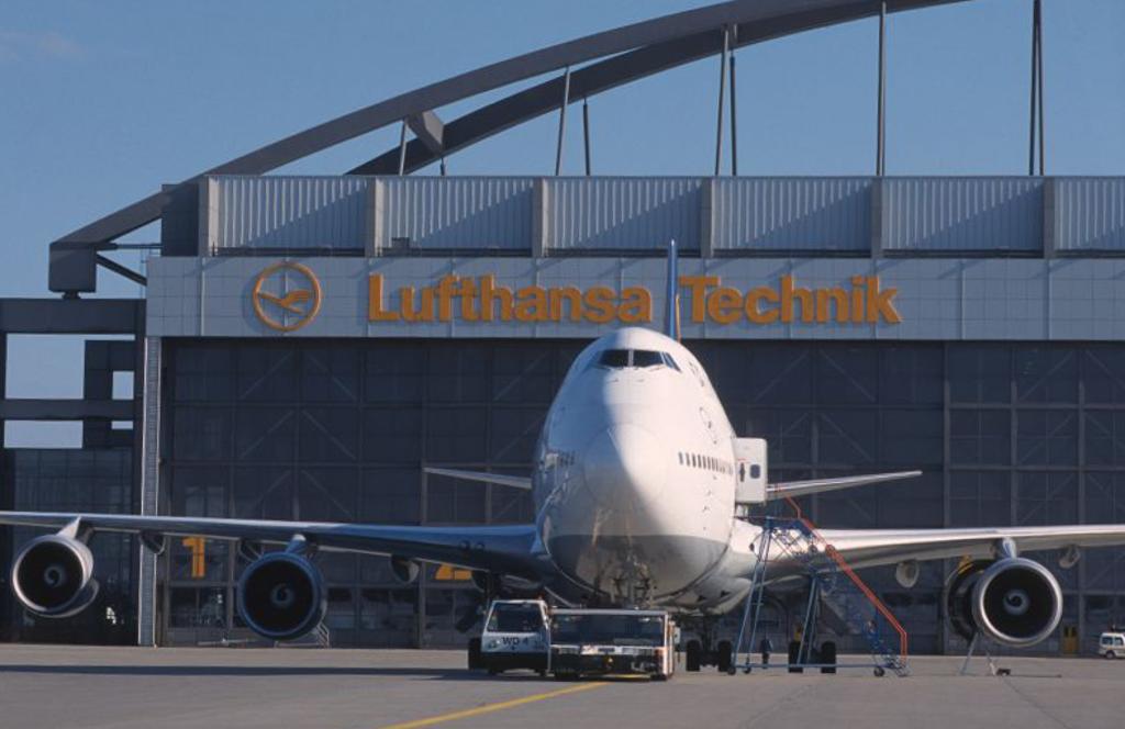 Et af punkterne på forslaget til turen til Hamborg er et besøg hos Lufthansa Technik. Foto: Lufthansa Technik, HAM TS/M