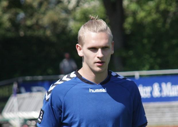 Martin Koch sikrede NVFC uafgjort i overtiden. Arkivfoto: Rolf Larsen.