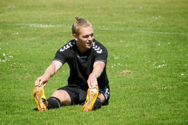 Martin Koch scorede to mål i lørdagens kamp mod SC Egedal. Arkivfoto: Michael Johannessen.