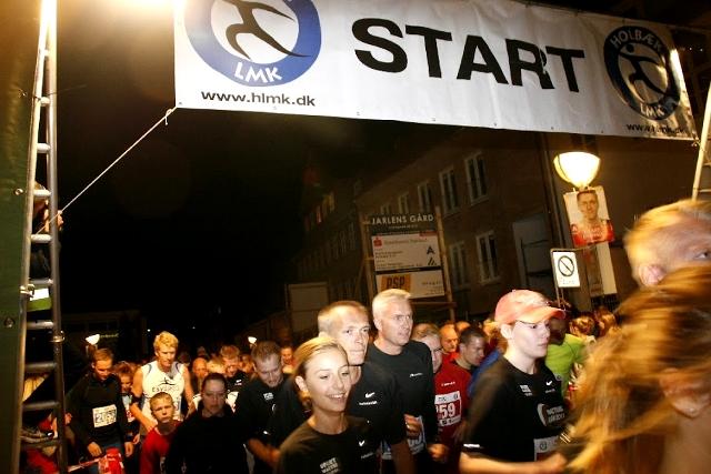 I aften er der igen Nattens Løb i Holbæk. Arkiv foto: Rolf Larsen.
