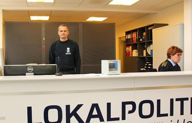 Politiekspeditionen i Holbæk holder lukket henover i påsken. Arkivfoto: Jesper von Staffeldt.