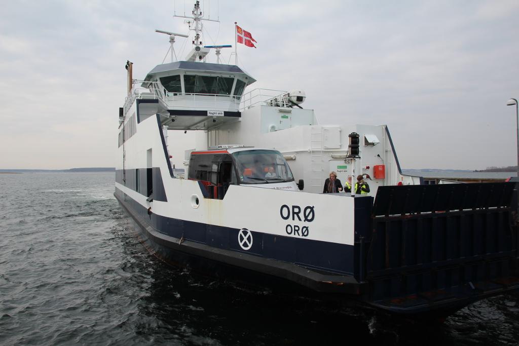 Der er et slags 5 års jubilæum for Orøfærgen den 1. juli. Læs anlednignen i Jespers klumme. Foto: Jesper von Staffeldt.