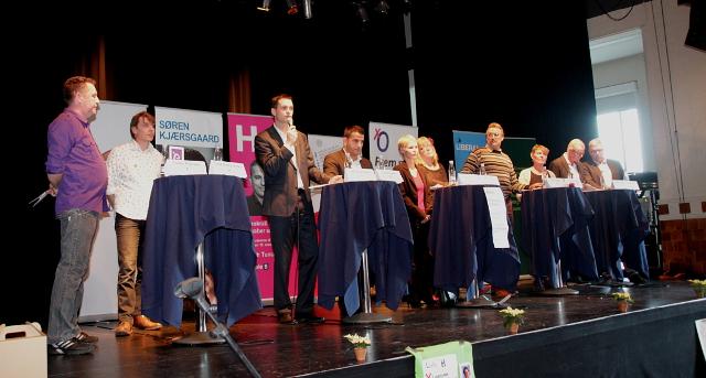Hvem skal være borgmester? Foto: Rolf Larsen.