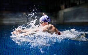 Rikke Møller Pedersen vandt bronze i 4x100m medley ved OL i Rio. PRfoto: Das Büro for Danmarks Idrætsforbund og Team Danmark