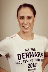 Rikke Møller Pedersen fra Holbæk Svømmeklub skal i aktion søndag ved OL i Rio. Foto: Das Büro for DIF og Team Danmark