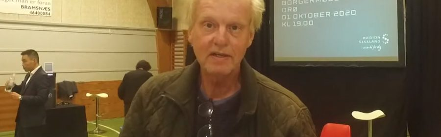 Orø Nyts redaktør, Simon Hansen.