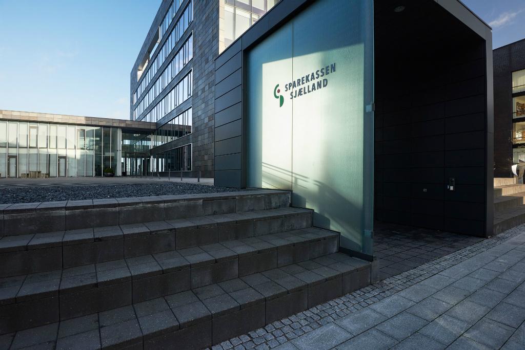 Sparekassen Sjælland-Fyn A/S fremviser historisk resultat. PRfoto.