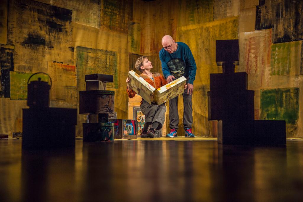 Et ord er et ord, er den ene af Teatret Fair Plays to forestillinger ved verdens største teaterfestival. Foto: David Trood.