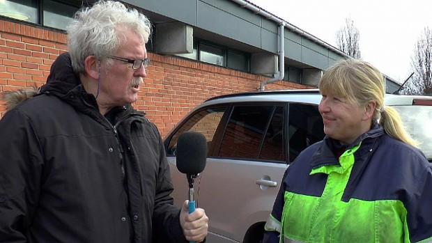 Hør hvad tillidsrepræsentant Jannie Cunliffe har at sige om situationen i Vej og Park. Foto: Jesper von Staffeldt.