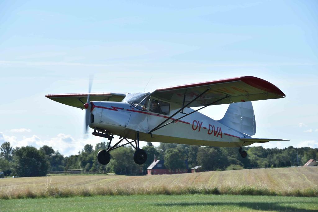 Dette Zonen-fly er blandt flyene, der kan ses på Veteranflydagen. Foto: Peter Otto Andersen.